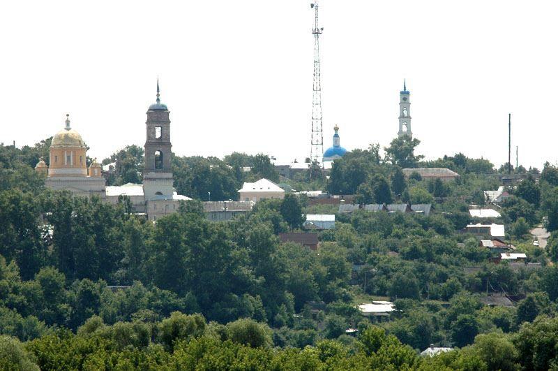Смотреть красивое фото вид города Кашира в хорошем качестве