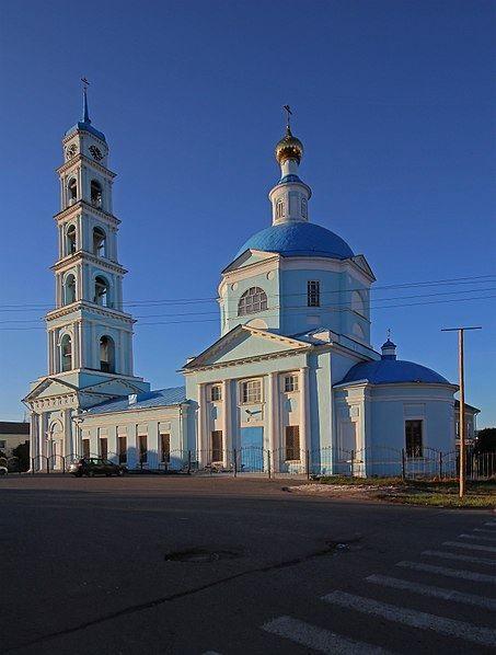 Введенская церковь город Кашира