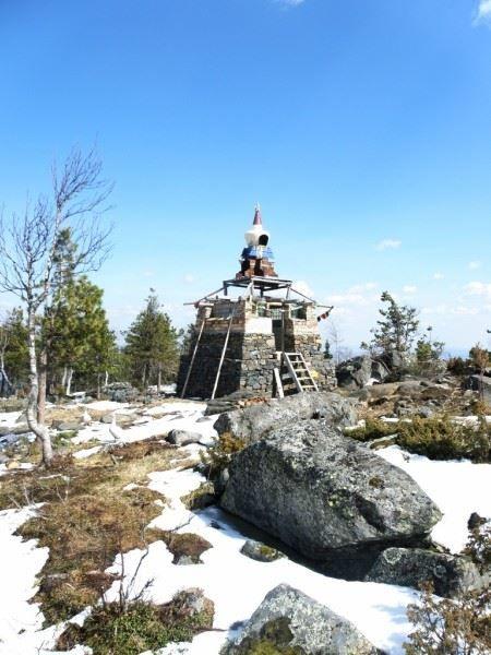 Буддийский храм на горе Качканар