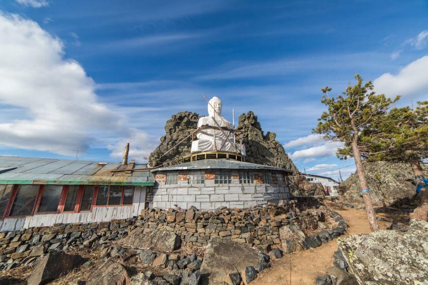 Монастырь в городе Качканар