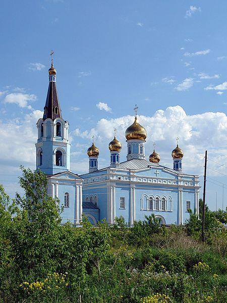 Церковь Покрова Божией Матери город Каменск уральский