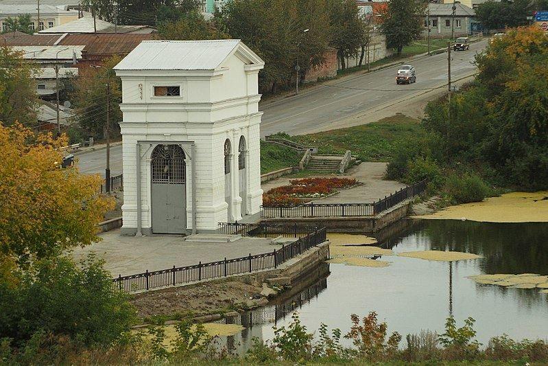 Плотина городского пруда город Каменск уральский