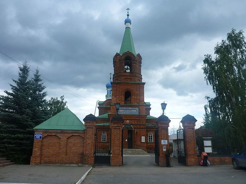 Храм Покрова Пресвятой Богородицы город Каменск уральский