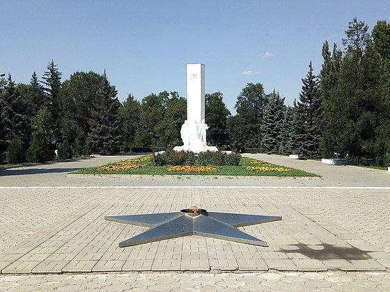 Мемориальный комплекс город Каменск шахтинский