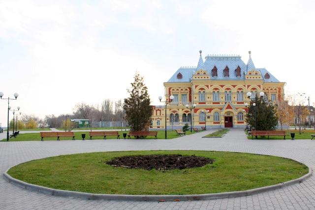 Смотреть красивый вид города Камышин бесплатно