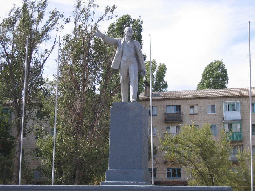 Памятник В.И. Ленину город Камышин