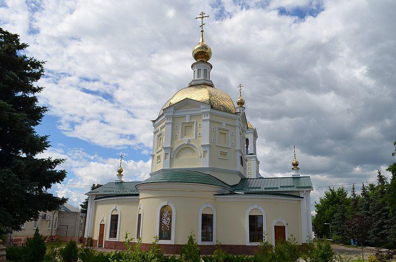 Свято-Никольская церковь город Камышин
