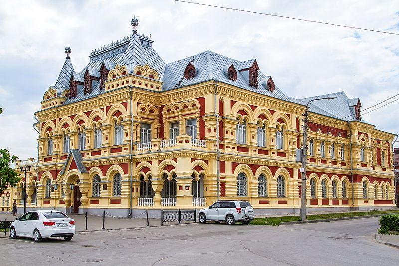 Уездная земская управа историко-краеведческий музей город Камышин