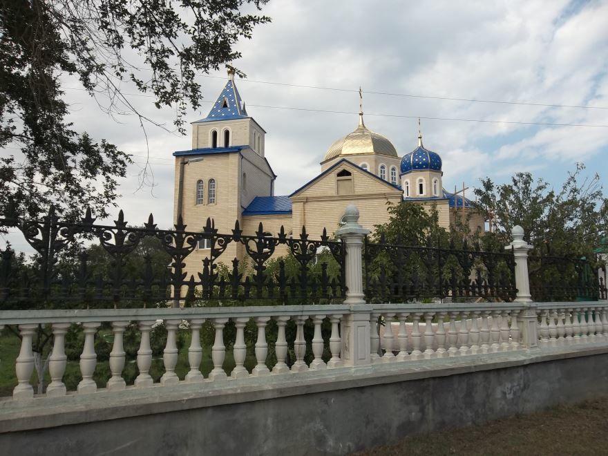 Казанская церковь город Каспийск