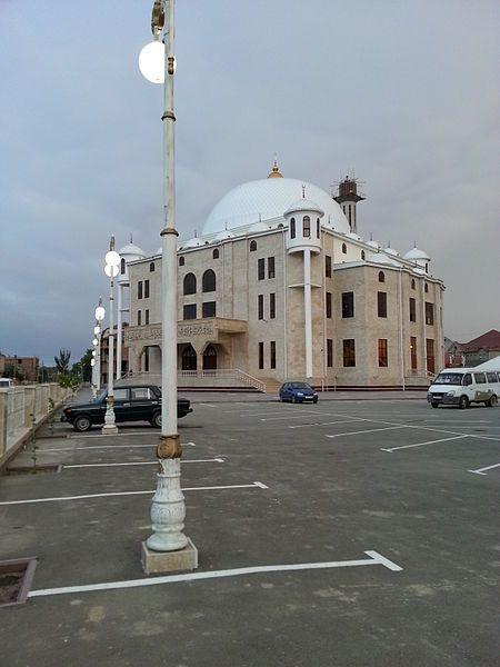 Смотреть красивое фото мечеть город Каспийск