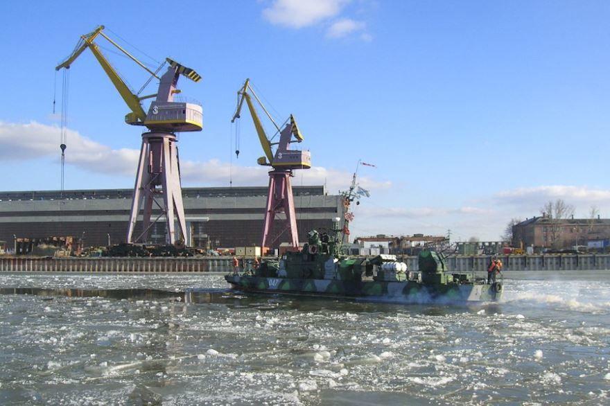 Морской порт город Каспийск