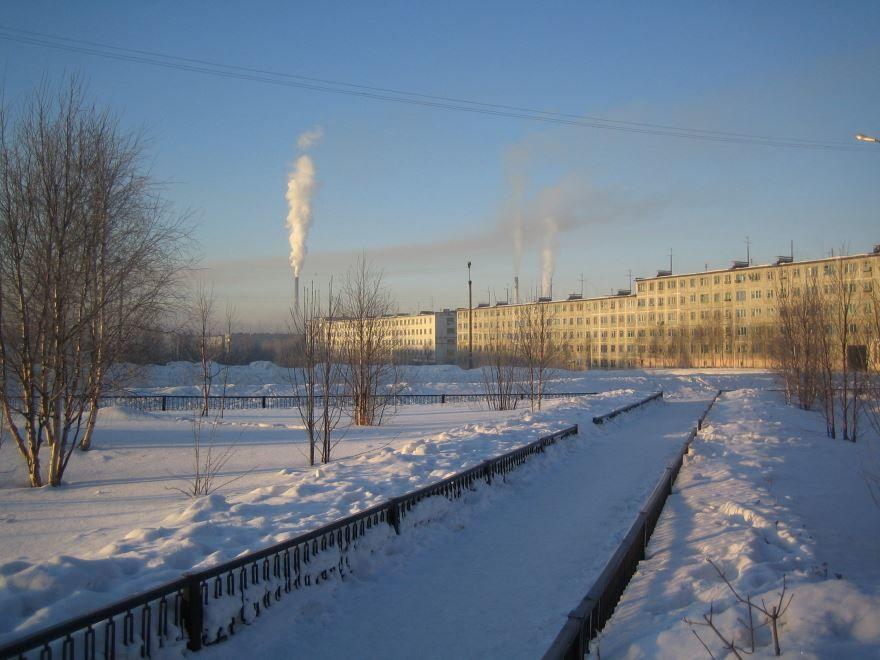 Смотреть красивое фото город Ковдор
