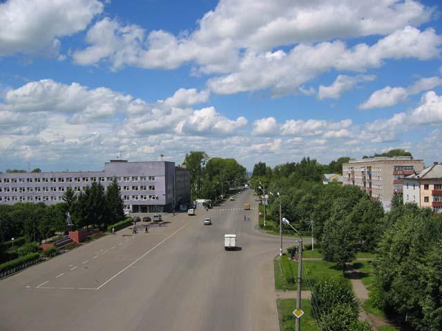 Площадь Ленина город Канаш