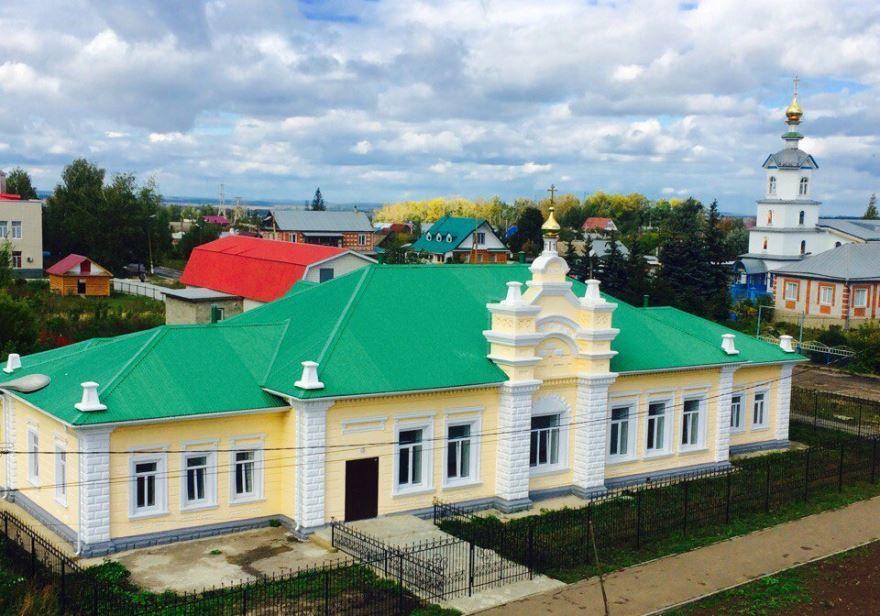 Здание учительской семинарии город Канаш