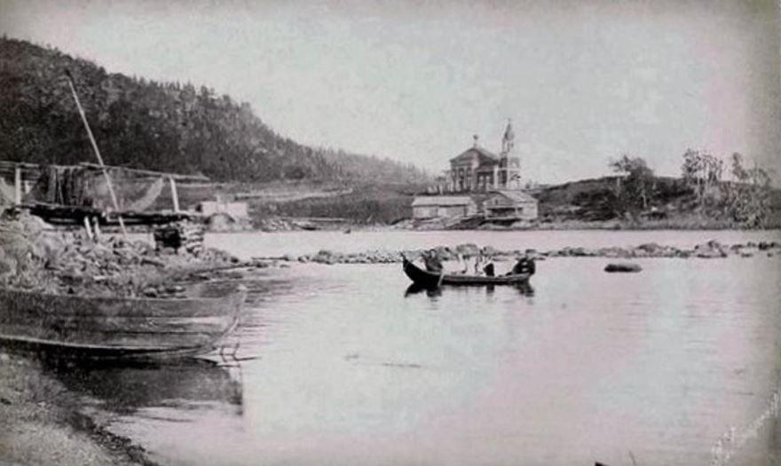Смотреть лучшее старинное фото города Кандалакша в хорошем качестве