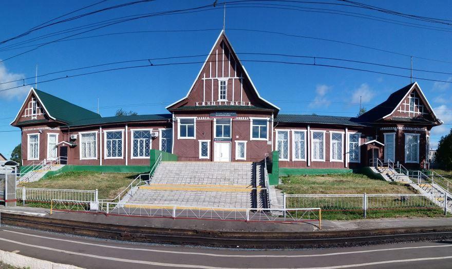 Железнодорожный вокзал город Кандалакша