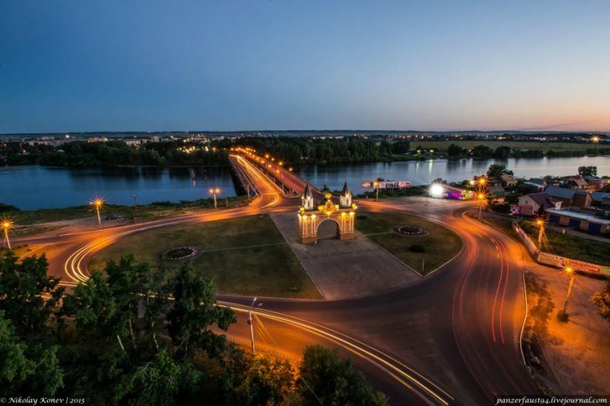 Смотреть красивое фото Арка город Канск в хорошем качестве