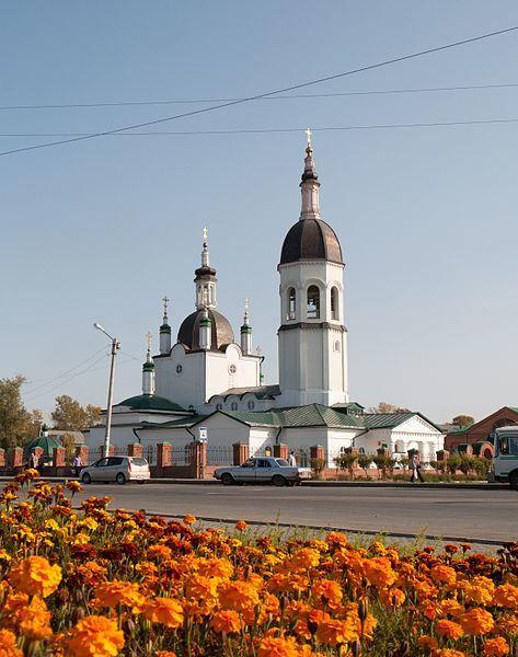 Спасский собор город Канск