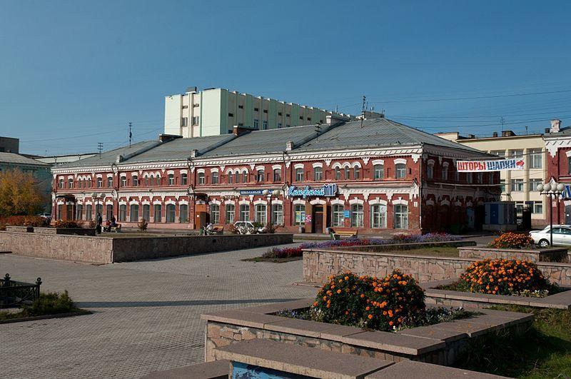 Торговые дома Чевелева город Канск