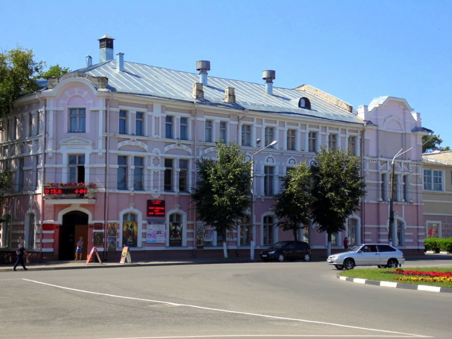 Здание бывшего купеческого собрания город Клинцы