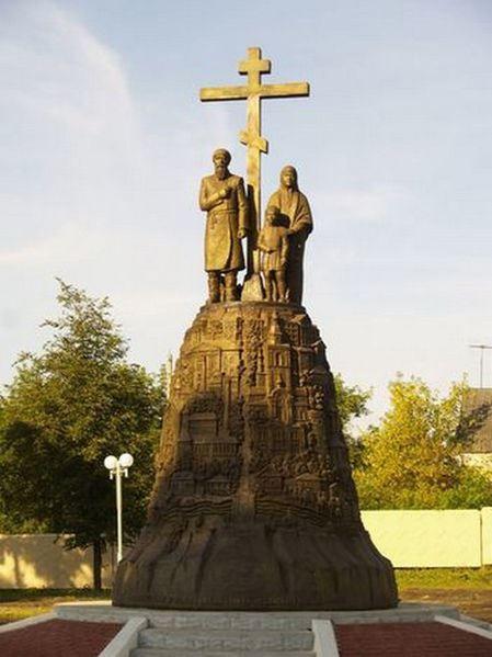 Памятник основателям ногода Клинцы