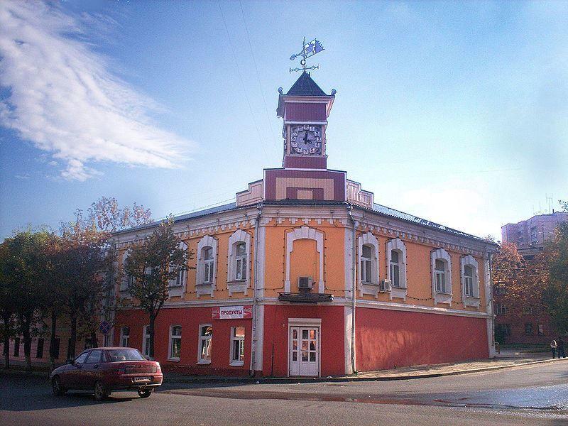 Советская Площадь город Клин