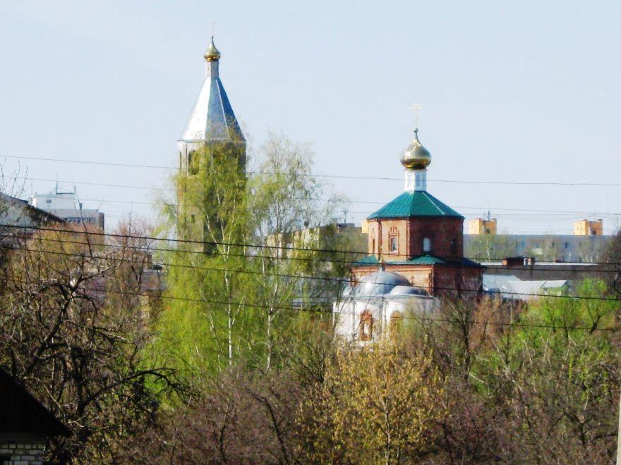 Воскресенская церковь город Клин