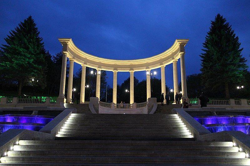 Каскадная лестница Кисловодск коллонада