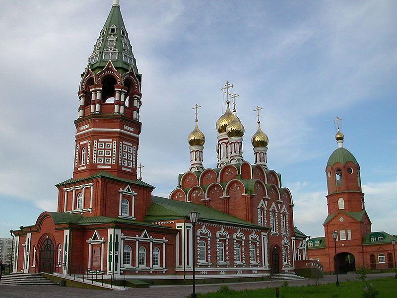 Церковь Иконы Божией Матери Скоропослушница город Киселевск
