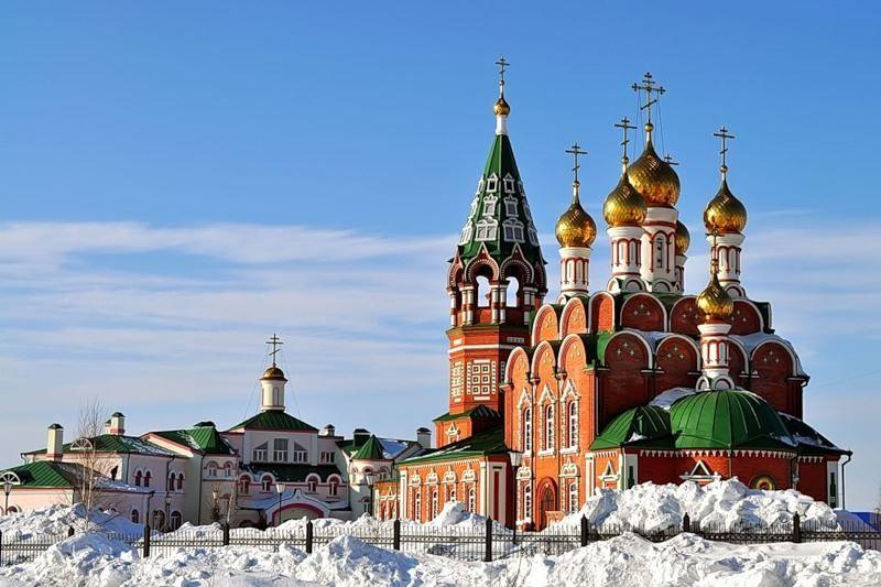 Храм на Красном камне город Киселевск