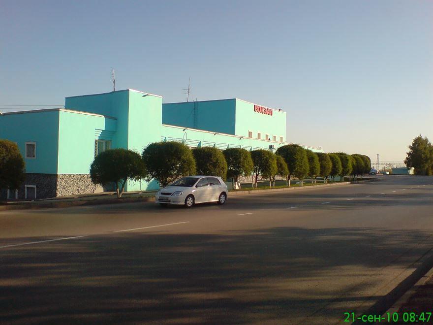 Железнодорожный вокзал город Киселевск