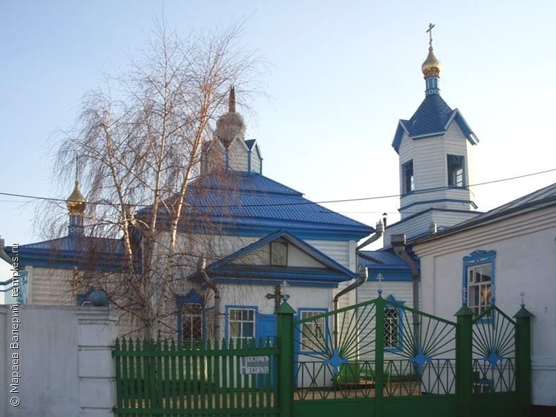 Петропавловская церковь город Киселевск