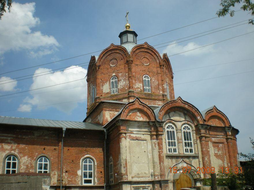 Николаевская церковь город Карачев