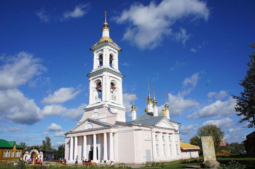 Церковь город Кимры