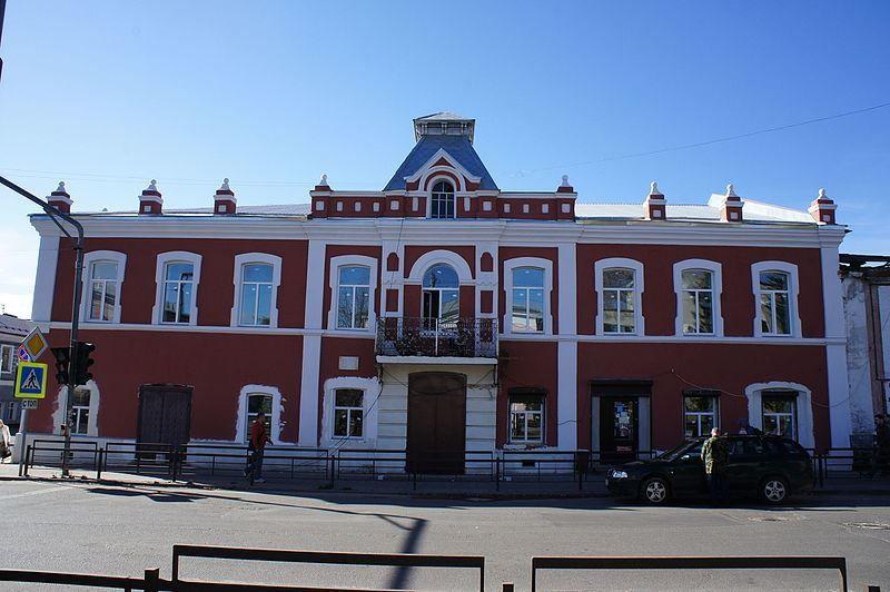 Смотреть красивое фото архитектура города Кимры в хорошем качестве