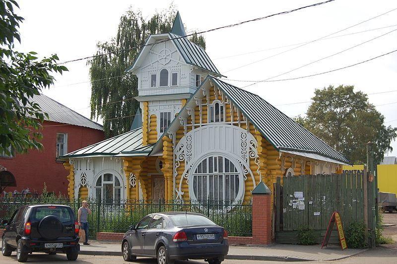 Теремок небольшой терм волшебный дом город Кимры