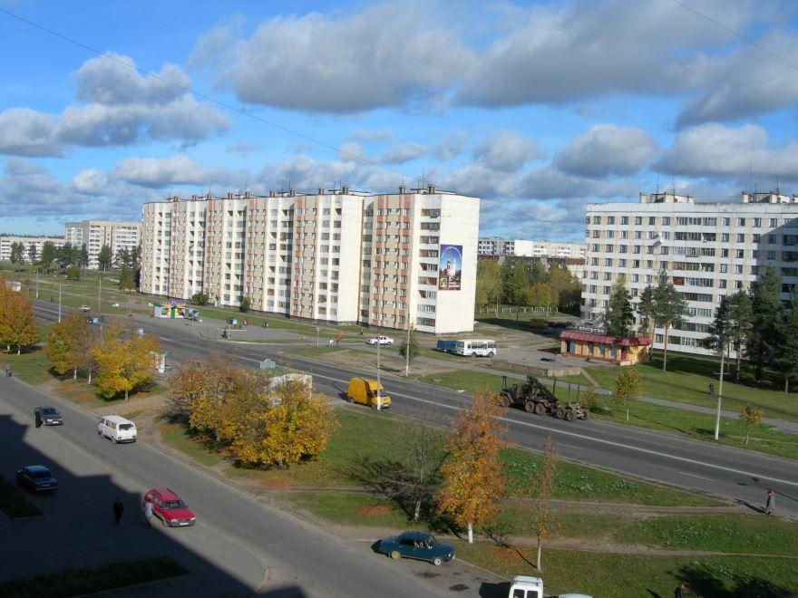 Скачать онлайн бесплатно красивое фото вид города Кингисепп в хорошем качестве