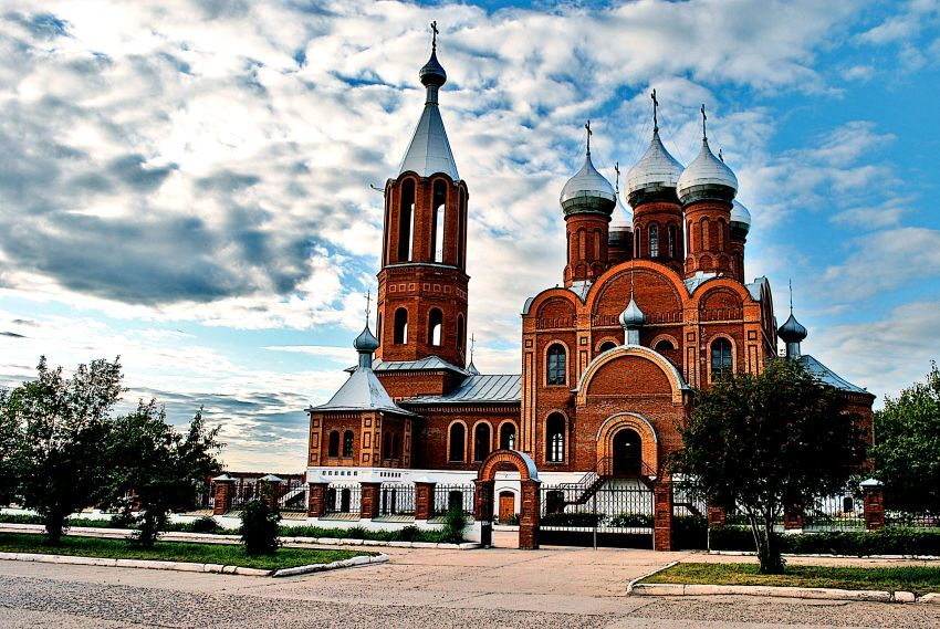 Церковь Всех Святых город Кирово чепецк