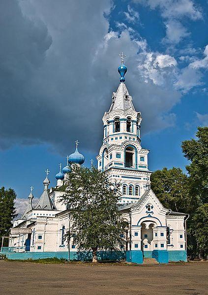 Покровская церковь в городе Кирс