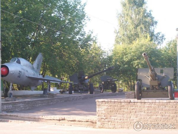 Музей военной техники город Кинешма