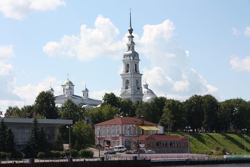 Православный Собор Успения Пресвятой Богородицы город Кинешма