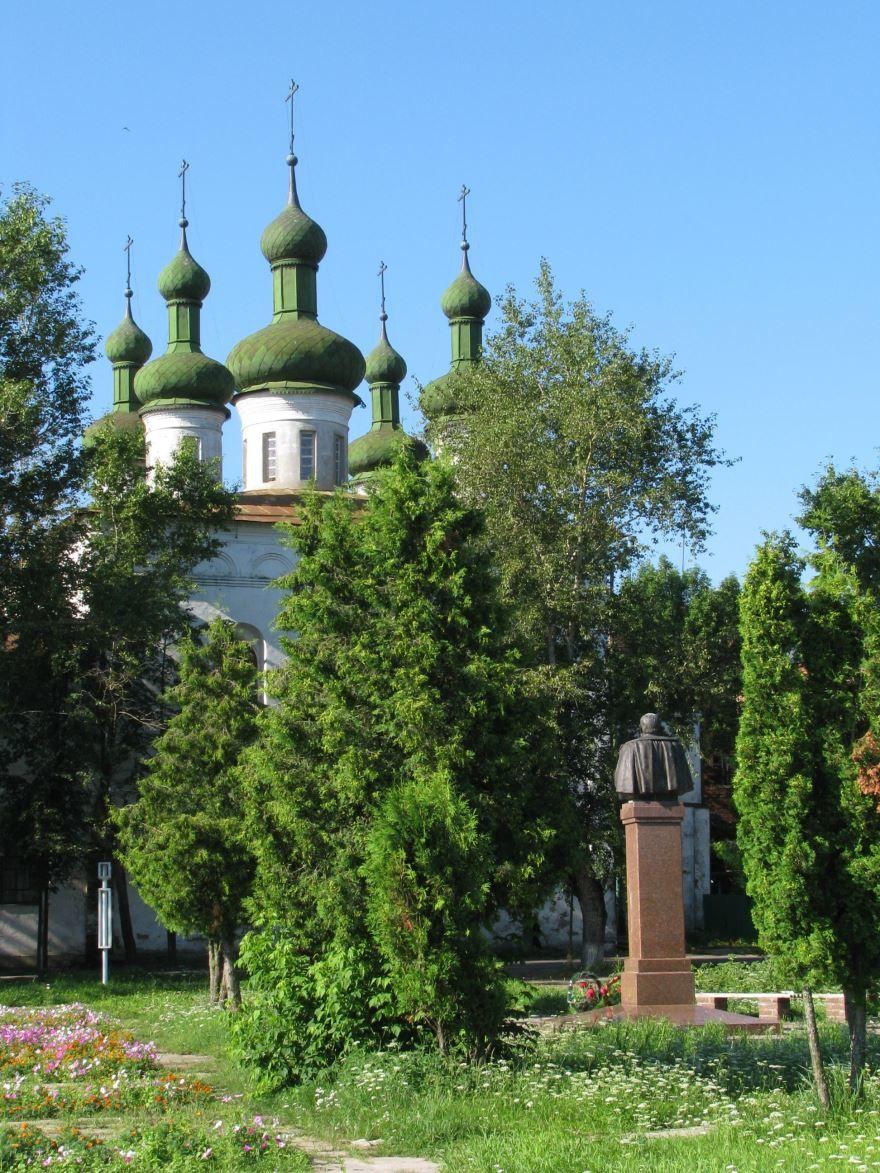 Театральная площадь город Кинешма