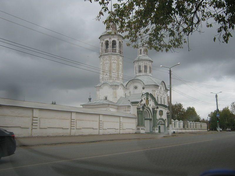Церковь Знамения Богородицы Кировская область город Киров