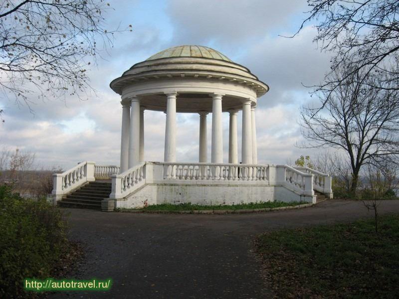 Скачать онлайн бесплатно красивое фото Александровский сад город Киров