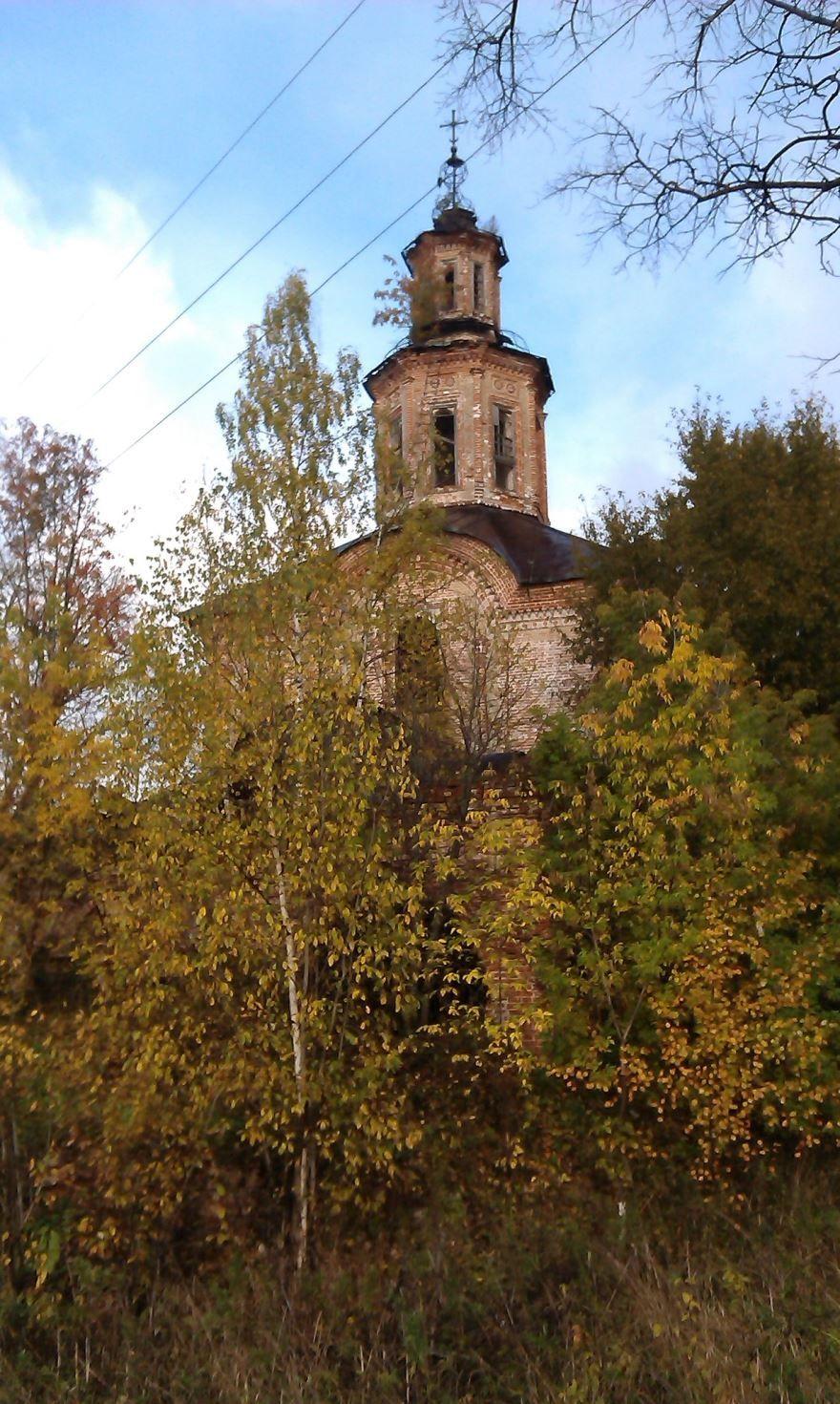 Троицкая церковь город Киров