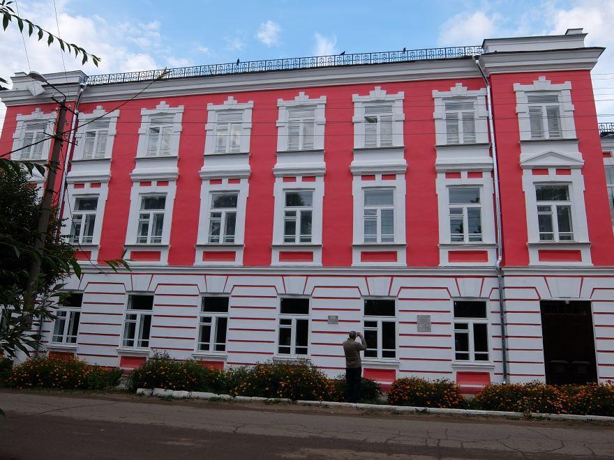 Комплекс мужской гимназии город Космодемьянск