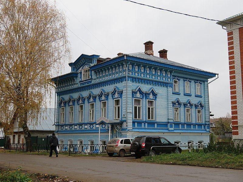Музей купеческого быта город Космодемьянск