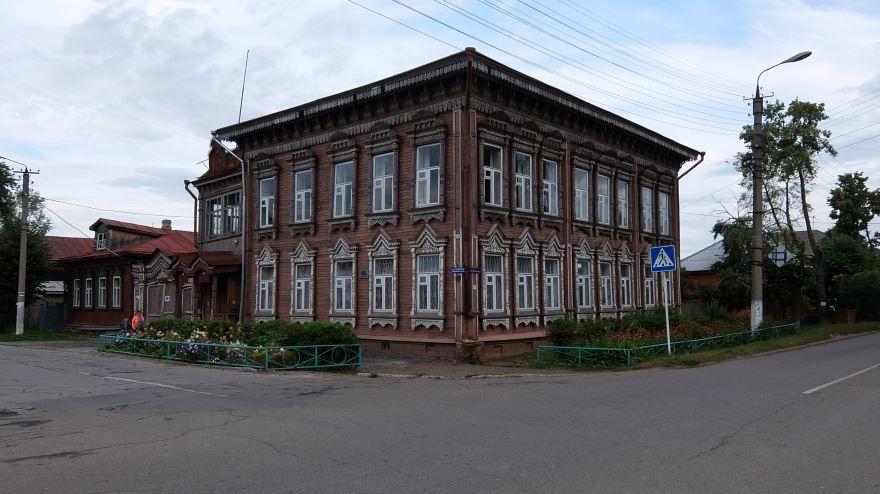 Усадьба Дерябина город Космодемьянск