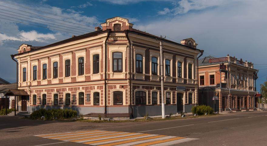 Жилой дом купца Турецева город Космодемьянск