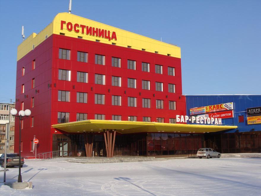 Смотреть красивое фото Гостиница торгового комплекса VIKONDA город Коряжма